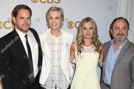Kyle Bornheimer, Jane Lynch, Maggie Lawson and Kevin Pollak