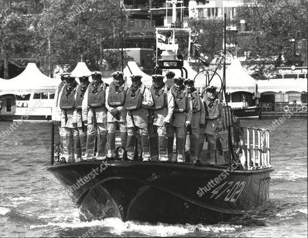 Award Winning Members Of Various Rnli Lifeboat Crews. Alan Clarke David Chant Thomas Ralston Hewitt Clark Peter Thomson Nick Botham Graham Raines Malcolm Macdonald John Catchpole And William Sinclair.