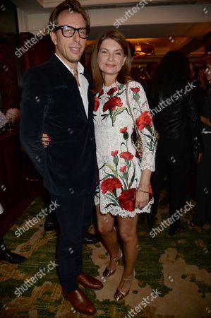 Erik Torstensson and Natalie Massenet