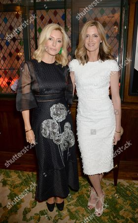 Crown Princess Marie-Chantal of Greece and guest