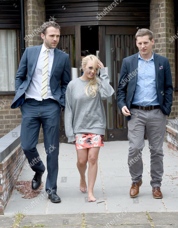 Jorgie Porter and James Sutton