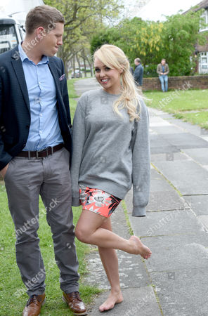 James Sutton and Jorgie Porter