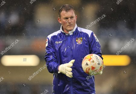 Stevenage Goalkeeper Coach Dave Beasant