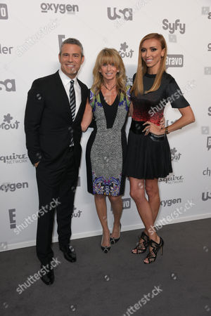 Andy Cohen, Chairman of NBC Universal Cable Entertainment Bonnie Hammer, Giuliana Rancic