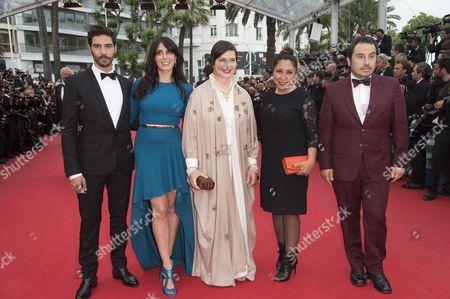 Tahar Rahim, Haifaa Al-Mansour, Isabella Rossellini, Nadine Labaki and Panos H. Koutras