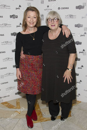 Lesley Manville and Patricia English