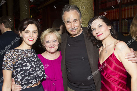 Annabel Scholey (Liz Imbrie), Maria Friedman (Director), Arthur Kopit (Author) and Kate Fleetwood (Tracy Lord)