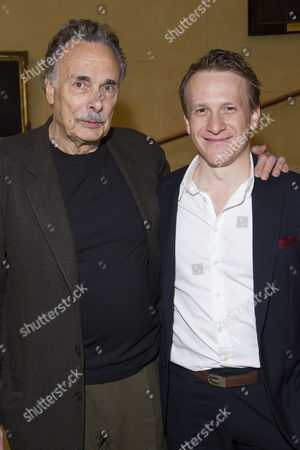 Stock Picture of Arthur Kopit (Author) and Jamie Parker (Mike Connor)
