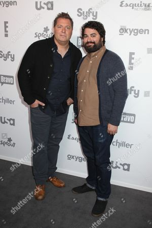 Stock Image of Jay Larson and Sean Patton