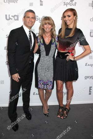 Andy Cohen, Bonnie Hammer and Giuliana Rancic