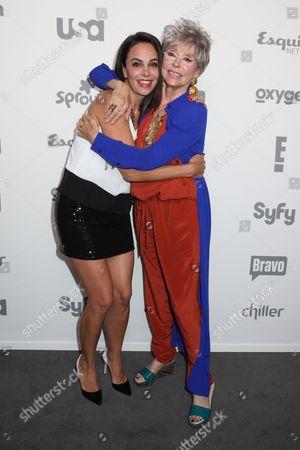 Michele Lepe and Rita Moreno
