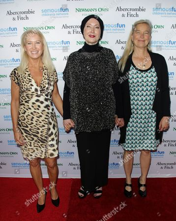 Clea Newman, Susan Newman and Nell Newman