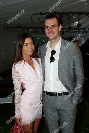 Cooper Hefner with girlfriend Scarlett Byrne actress who played Pansy Parkinson in the Harry Potter film