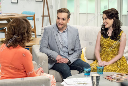 Lorraine Kelly with Alex Larke and Bianca Nicholas