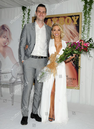 Cooper Hefner and Dani Mathers, 2015 Playboy Playmate of the Year