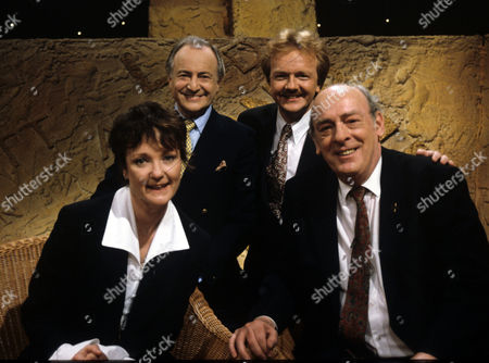David Jacobs, Alan Robson and John Junkin