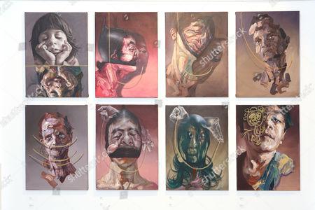 Editorial photo of World Civil War Portraits exhibition by Sara Shamma at StolenSpace Gallery, London, Britain - 14 May 2015