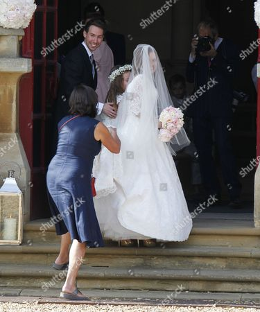 Editorial photo of Wedding of Geri Halliwell and Christian Horner, St Mary's Church, Woburn, Britain - 15 May 2015