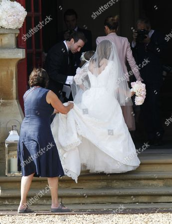 Editorial picture of Wedding of Geri Halliwell and Christian Horner, St Mary's Church, Woburn, Britain - 15 May 2015
