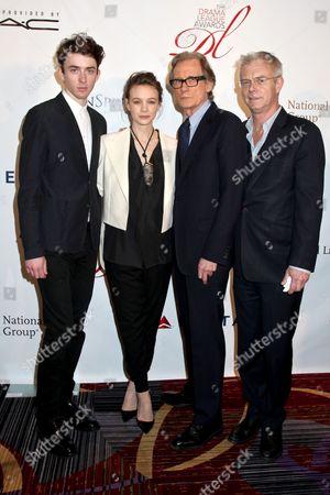 Matthew Beard, Carey Mulligan, Bill Nighy and Stephen Daldry