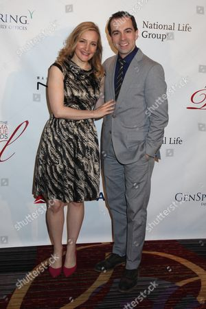 Rob McClure (R) and wife Maggie