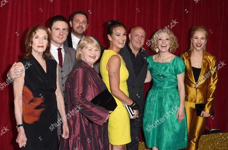 Linda Marlowe, Danny-Boy Hatchard, Danny Dyer, Annette Badland, Luisa Bradshaw-White, Karl Howman, Kellie Bright and Maddy Hill
