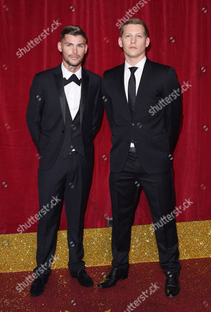 Kieron Richardson and James Sutton