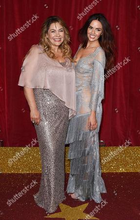 Nicole Barber-Lane and Jennifer Metcalfe