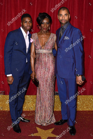 Duayne Boachie, Jacqueline Boatswain and Karl Collins