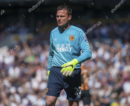 Hull City' Keeper Steve Harper,  Hotspurs v Hull City, Barclays Premier League, White Hart Lane, London, Britain