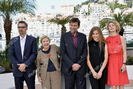 John Turturro, Giulia Lazzarini, Beatrice Mancini, Margherita Buy and Nanni Moretti