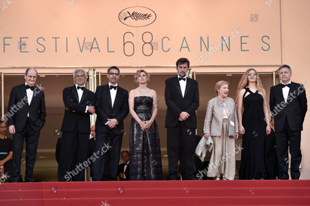 Nanni Moretti, Margherita Buy, John Turturro, Giulia Lazzarini and Beatrice Mancini