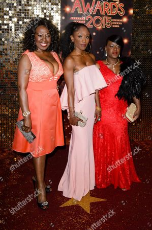 Ellen Thomas, Diane Parish and Tameka Empson
