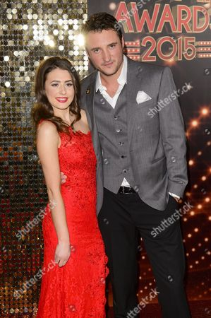 Editorial photo of The British Soap Awards, Palace Theatre, Manchester, Britain - 16 May 2015
