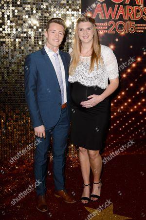 Harry Needs and Rebecca Adlington