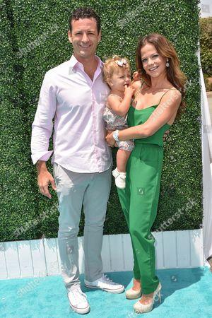 Stock Picture of Sean McEwan, Tammin Sursok and daughter Phoenix Emmanuel Sursok-McEwan