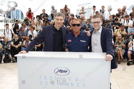 John McKenna, Chad McQueen and Gabriel Clarke