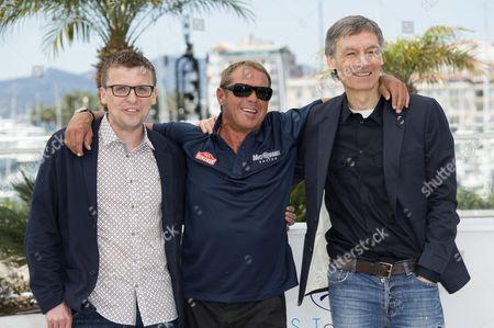 John McKenna, Chad McQueen and Gabriel Clark