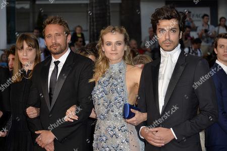 Diane Kruger, Alice Winocour, Matthias Schoenaerts, DJ Gesaffelstein