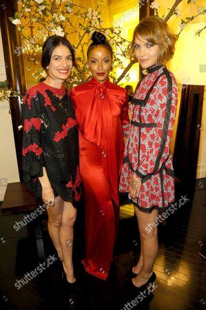 Leila Yavari, Selita Ebanks and Arizona Muse