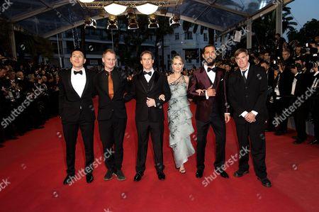 Guests, Chris Sparling, Naomi Watts, Matthew McConaughey and Gus Van Sant