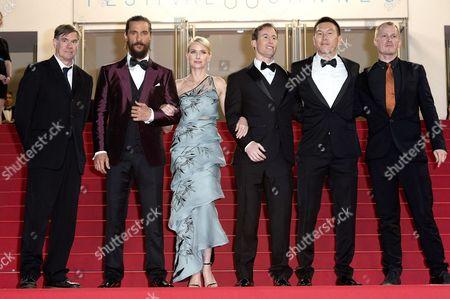 Gus Van Sant, Matthew McConaughey, Naomi Watts, Chris Sparling, Ken Kao and Kasper Andersen