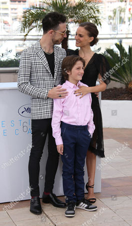 Gilad Kahana, Amir Tessler and Natalie Portman