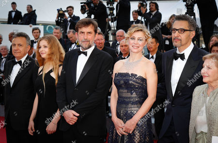 Nanni Moretti, Margherita Buy, John Turturro and Giulia Lazzarini
