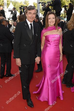 Philippe Douste-Blazy and wife