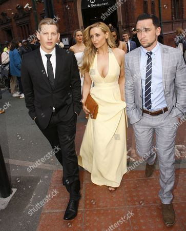 James Sutton, Catherine Tyldesley and Tom Pitfield