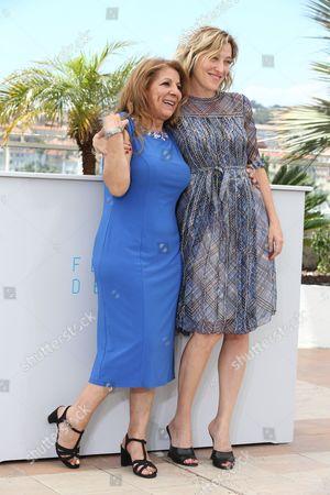 Tassadit Mandi and Valeria Bruni Tedeschi