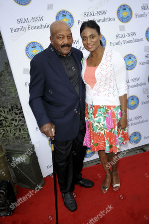 Jim Brown and Monique Brown