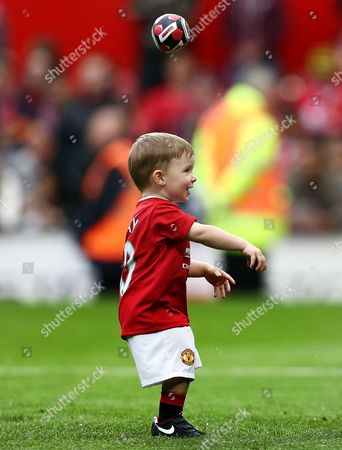 Klay Rooney on the pitch at the end of the game