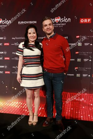 Editorial photo of Eurovision Song contest press conference and opening ceremony, Vienna, Austria - 17 May 2015